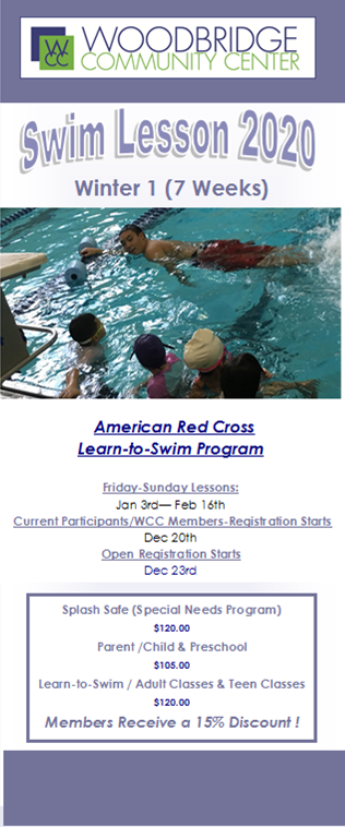 winter swim lessons
