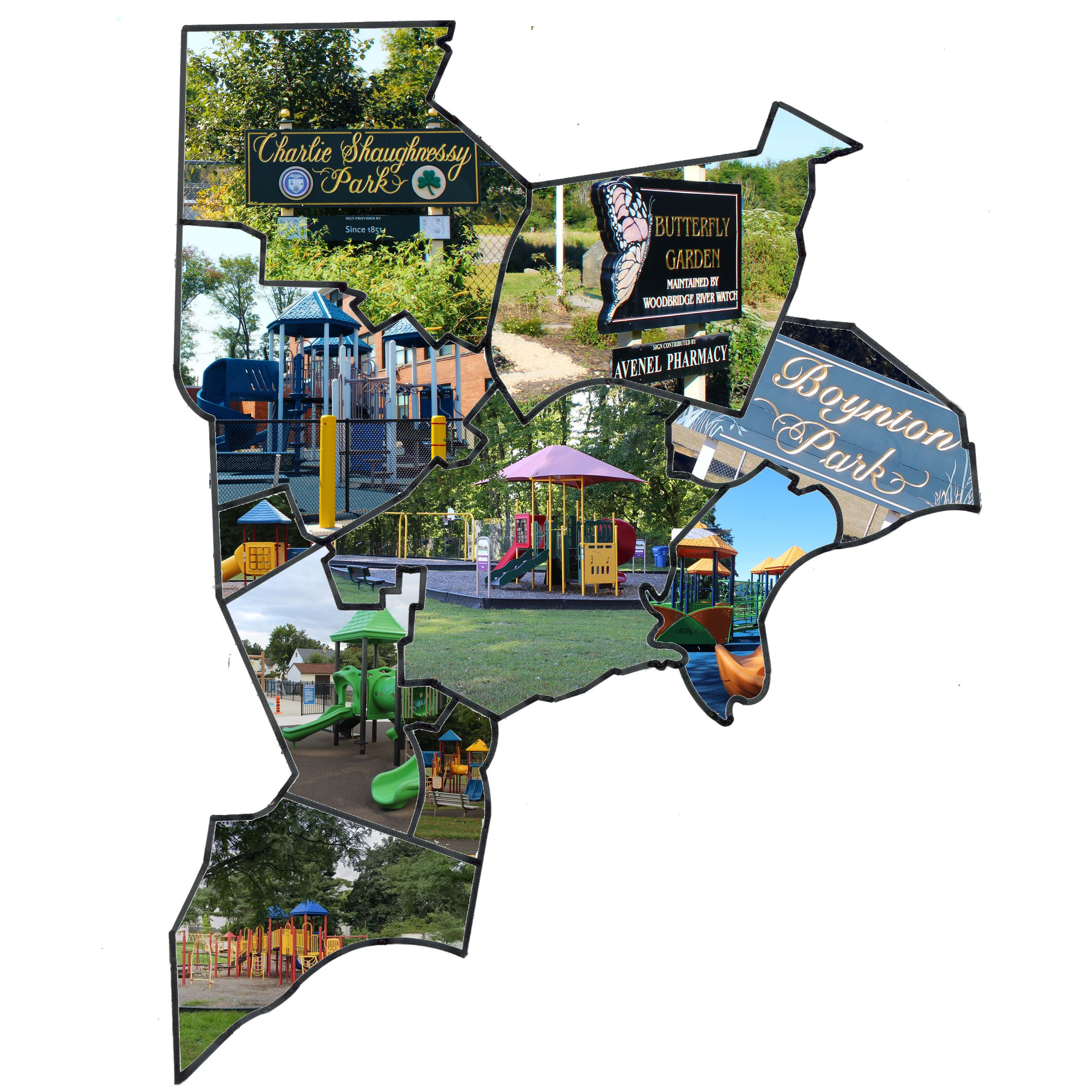 Parks Town Map