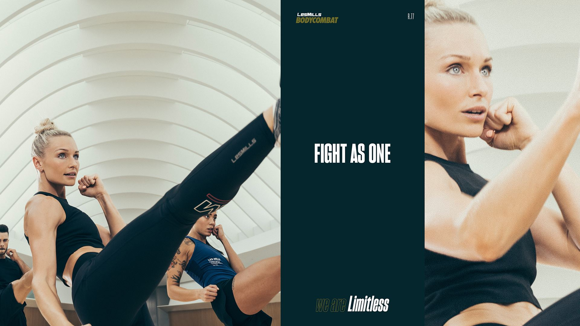 AUGUST 2018 BODYCOMBAT DIGITAL SCREEN
