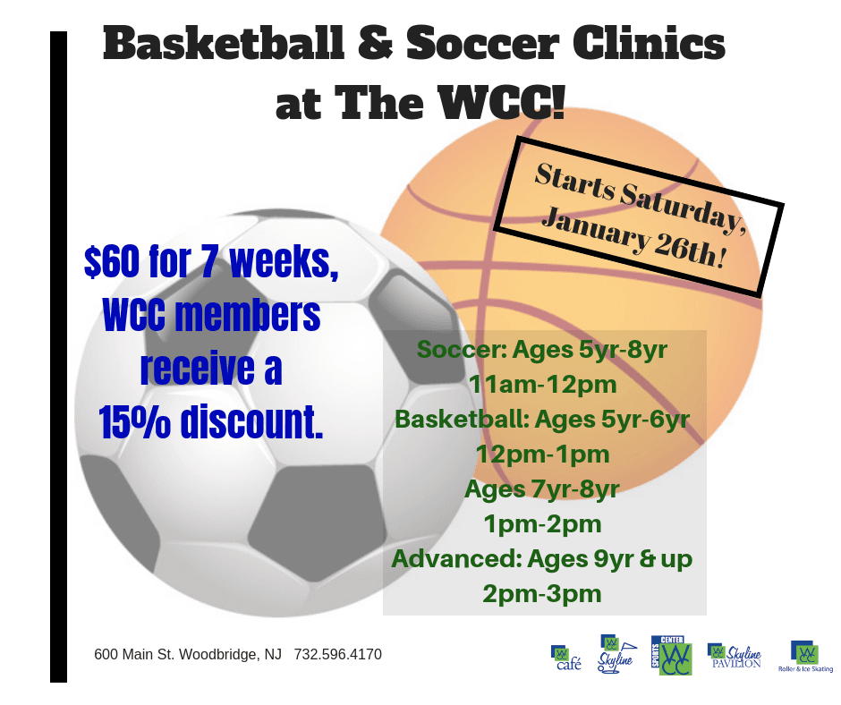 basketball and soccer clinic fb