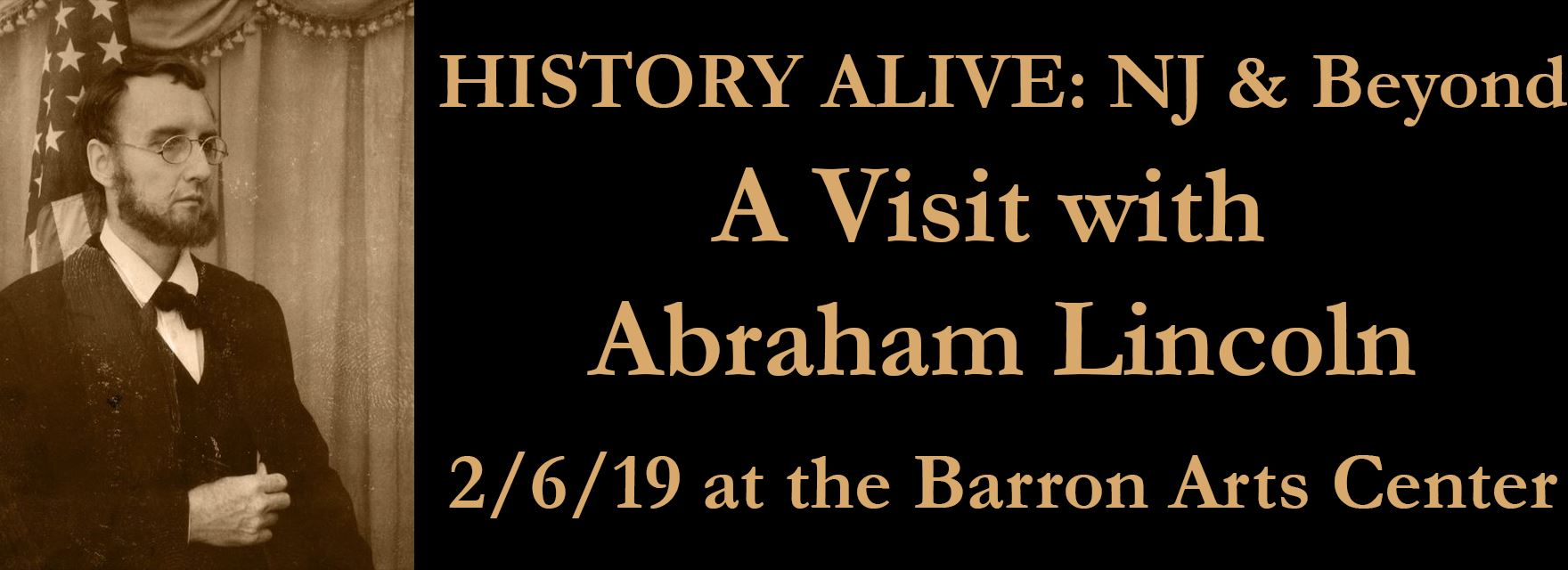 Performance: A Visit with Abraham Lincoln 2/6/2019